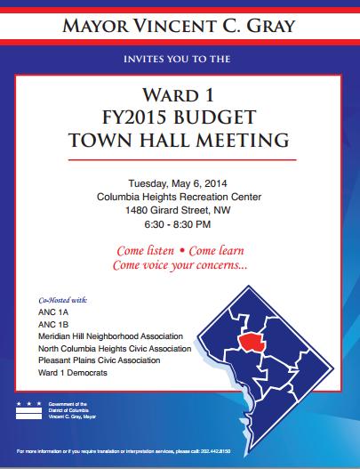 ward+1+budget+town+hall
