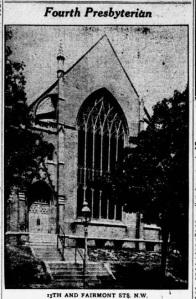 Fourth Presbyterian 1922