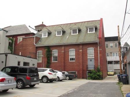 gymnasium building of church