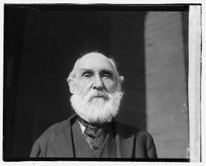 Allen B. Hayward, photographed on May 8, 1920, at the age of 81 (Image from Library of Congress).