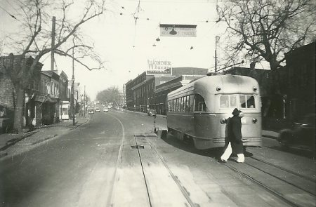 lower georgia streetcar 1943