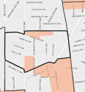 Raymond Elementary School Boundaries