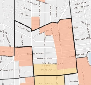 Tubman Elementary boundaries