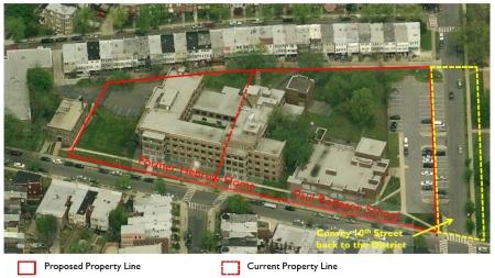 Hebrew Home property lines