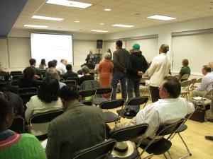DDOT's Interim Director, Matthew Brown, answering community questions.