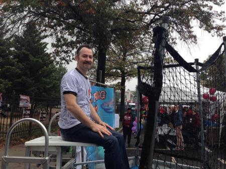 Kent in Dunk Tank October 11, 2014