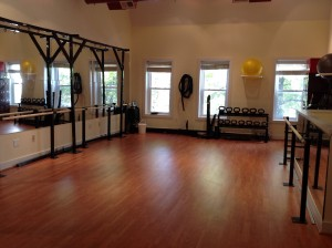 Exercise space at From the Core Studios.