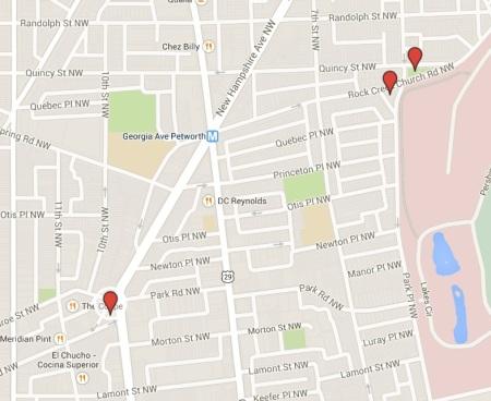 Possible memorial map