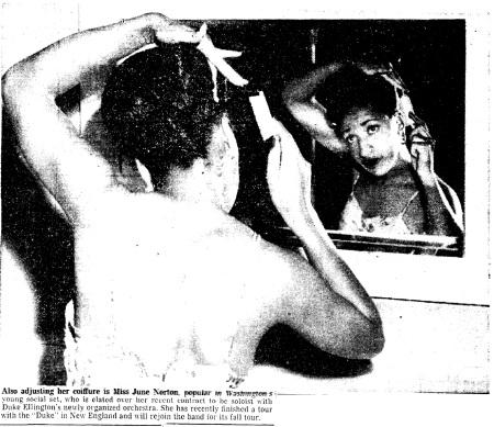 June Norton 1950
