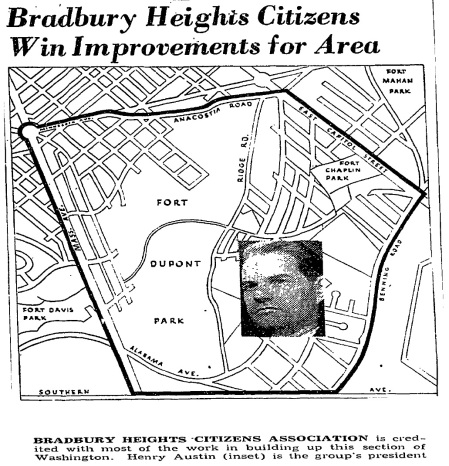 Bradbury Heights map