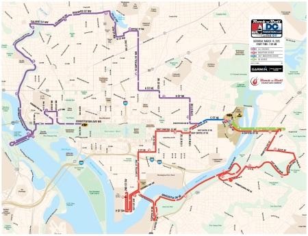 2015 marathon map