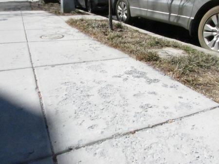 scaling sidewalk