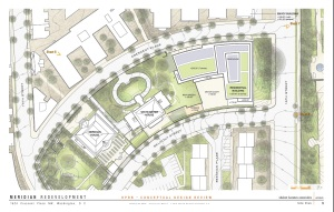 Site plan of proposed development (from ANC 1C Web site).