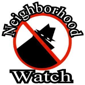 Neighborhood watch  1