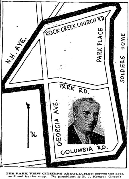 Park View map 1940