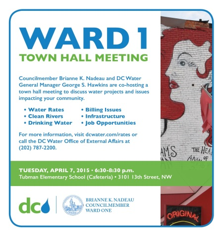 DC Water Ward 1 Town Hall