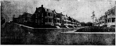 400 block of park Road 1907