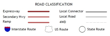 2014 road classification key