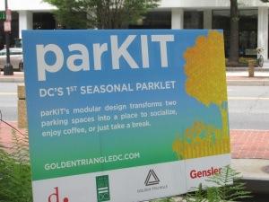 The ParKIT sign expalin