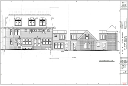 Morton Street Mews church plans 1