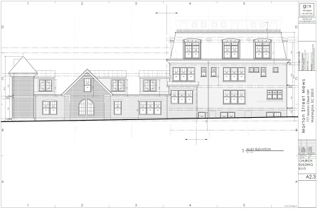 Morton Street Mews church plans 3