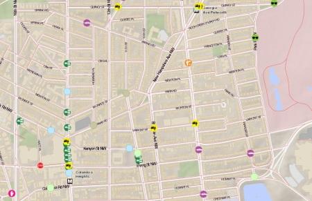 Vision Zero map