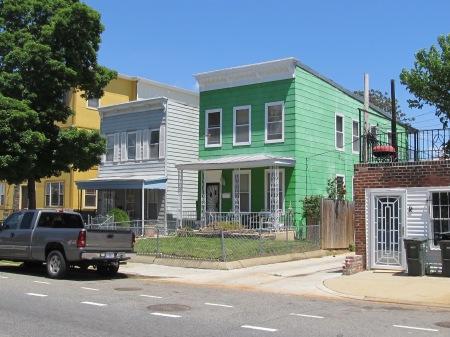 Whitney Close houses