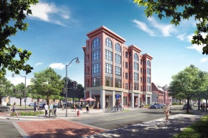 Proposed 21-unit building at 3701 New Hampshire Ave, NW.
