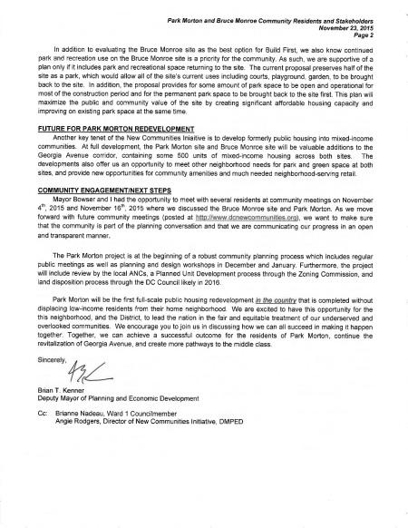 Kenner Letter page 2