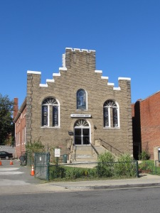 In 1965, the small church at 625 Park Road was the home of Trinity A.M.E. Zion chuch, and one of the locations of UPO's pilot head start program.