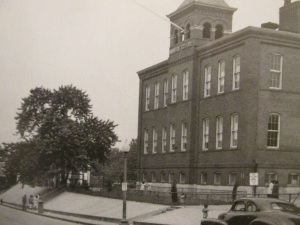 The old Monroe School on Columbia Road.