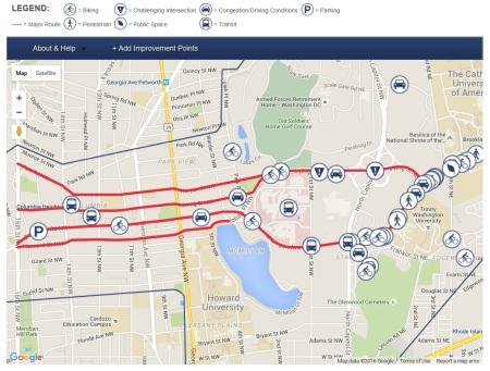 Interactive DDOT map