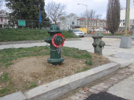 New hydrant