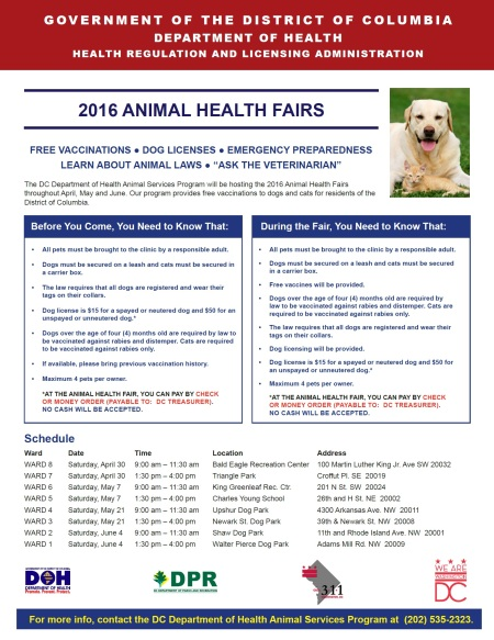2016 Animal Health Fair