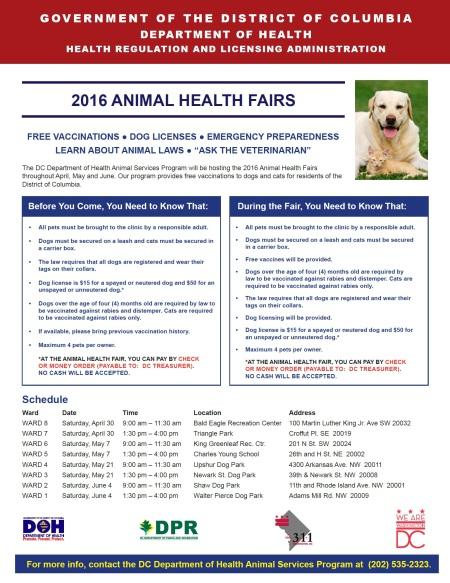 2016 Animal Health Fair