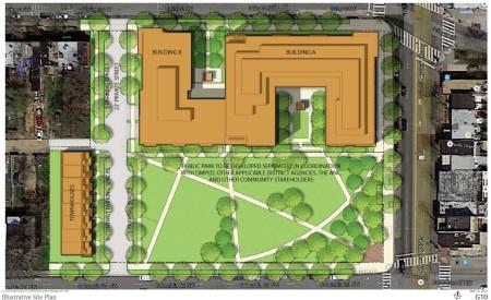 Bruce Monroe site plan