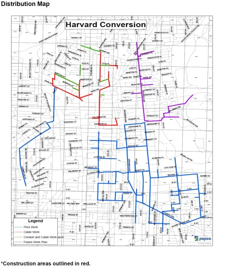 Harvard Conversion distribution map Spring 2016