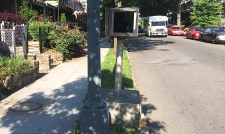 Irving speed camera