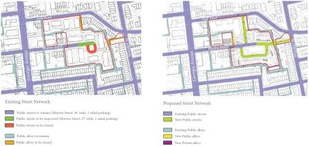 street network