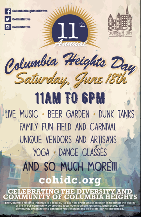 Columbia Heights Day 2016