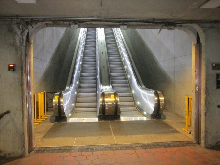 Georgia Avenue escalators