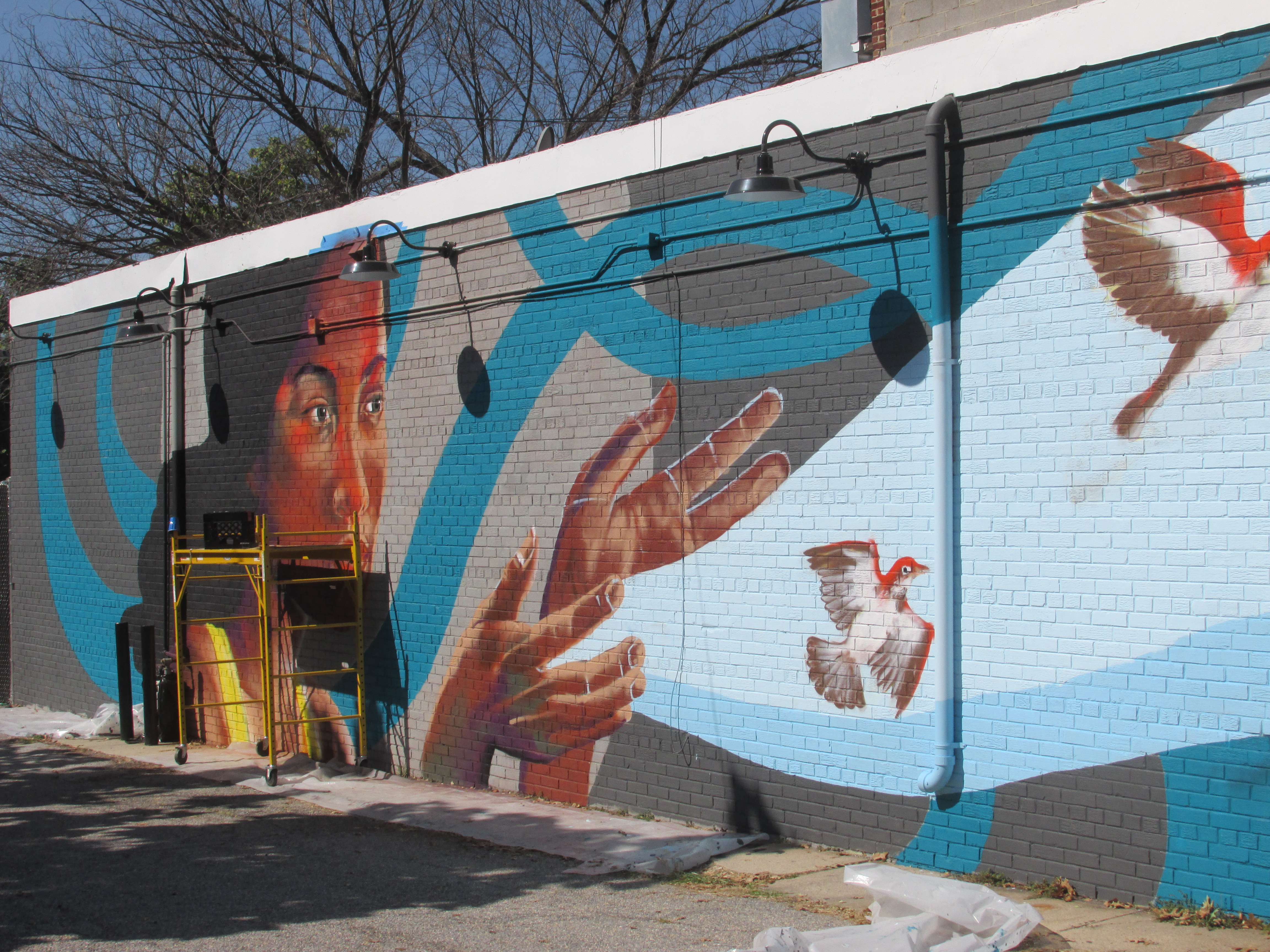 Murals park view d c for Planning mural 2017